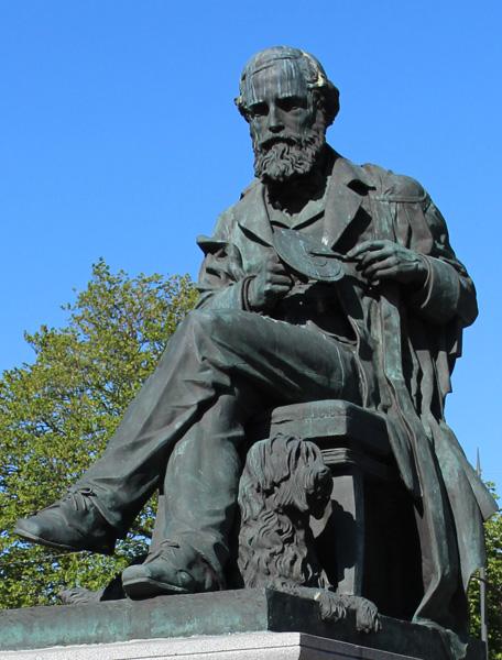 James Clark Maxwell Statue Edinburgh